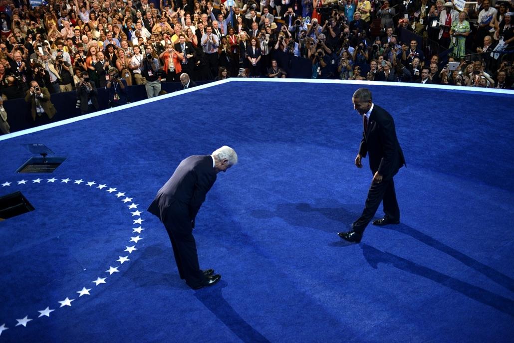 2012.09.05. - Barack Obama és Bill Clinton a Demokrata Konvenció - CLNTNAGY