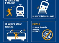 MÁV: ne a síneken játsszanak a gyerekek szünidőben
