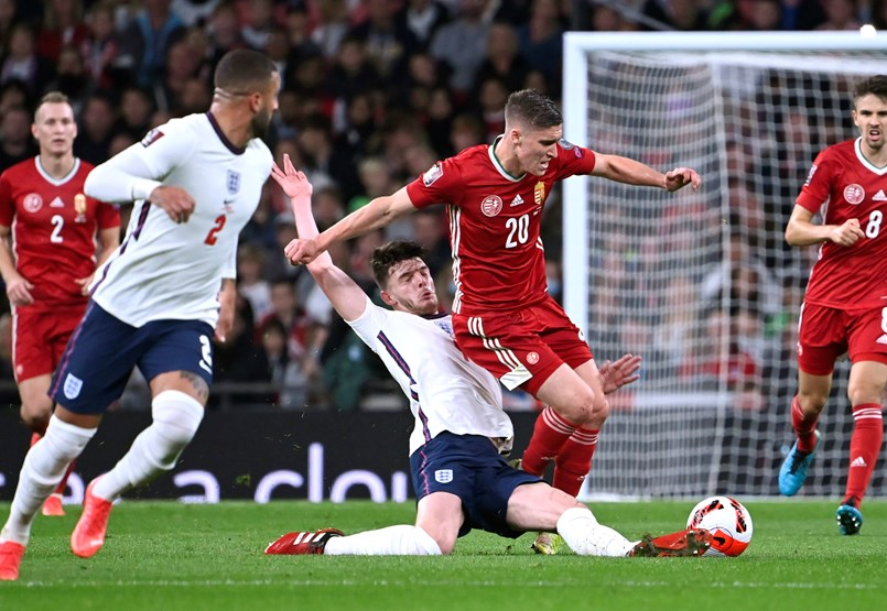 The Anglo-Hungarian at Wembley started well but ended in a tense draw