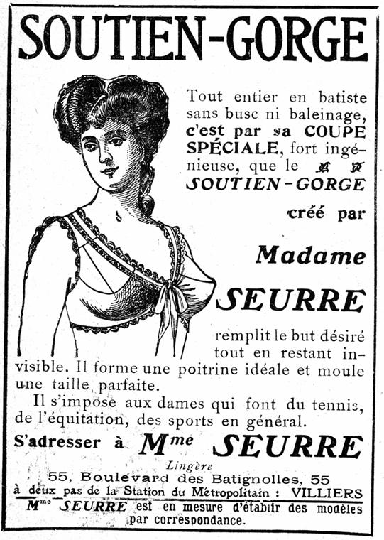afp.1907. - Reklám 1907-ből - melltartó nagyítás