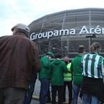 Nem volt igazán tömeg a Fradi hazai bajnokavató meccsén