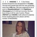 Fotó: Pár hete élt Londonban, eltűnt egy 20 éves magyar lány