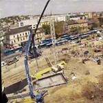 Timelapse-videón a Széll Kálmán tér újjászületése