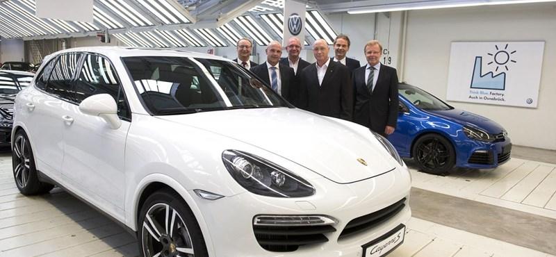 Akkora az igény a Porsche Cayenne-re, hogy a Volkswagen is elkezdi gyártani