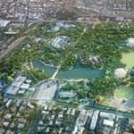 Ilyennek képzelik el a Városliget megújított zöldfelületeit – friss látványtervek