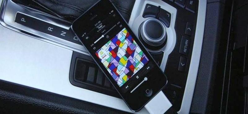 Az autósok kínlódhatnak majd az iPhone 5-tel