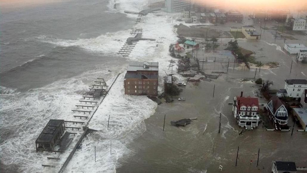 Atlantic City (képünkön) és New Yersey szinte teljes teerületén szünetelt az áramellátás- Sandy hurrikán
