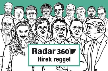 Radar360: Helyzet van a választási törvény és George Clooney körül