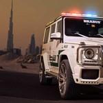 Újabb brutális autócsodát vett a dubaji rendőrség