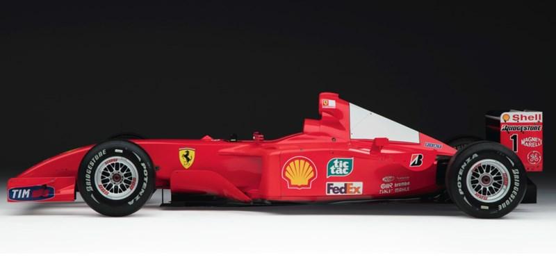 Kétmilliárd forintot fizetett valaki Michael Schumacher fantasztikus Ferrariáért