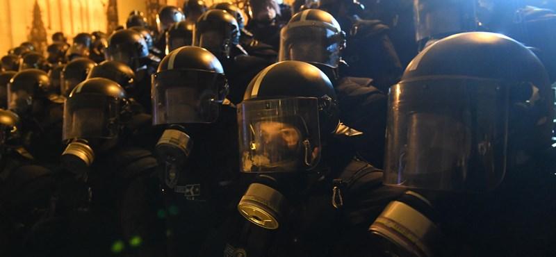 """""""Nem úgy van az, hogy a rendőrség akkor fúj egy kis könnygázt, amikor jónak látja"""""""