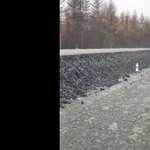 Videó: Még a harcedzett oroszokat is meglepte ez az aszfaltozás