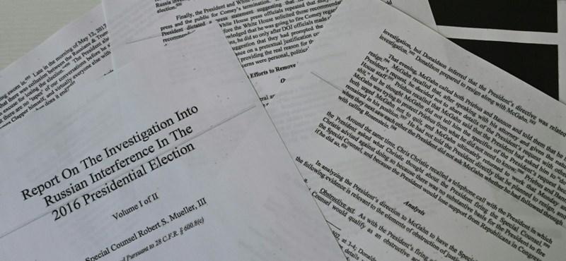 A teljes Mueller-jelentést követelik a demokraták