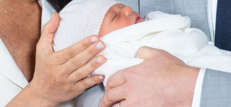 Végre láthatjuk Meghan Markle és Harry herceg babáját