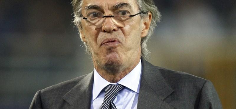 """Massimo Moratti: """"Az Inter és a Milan már nem szupercsapat többé"""""""