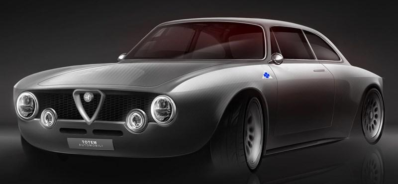 Újabb olasz klasszikus, az Alfa Romeo Giulia Sprint GT kap elektromos szívet