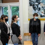 Catalin Carrico met the biology students at Sieged