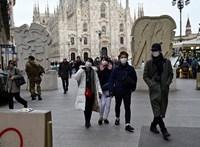 Már 17 halottja van Olaszországban a koronavírusnak