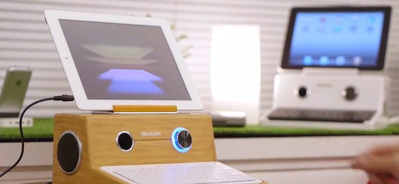 Varázsoljunk retró számítógépet az iPadből [videóval]