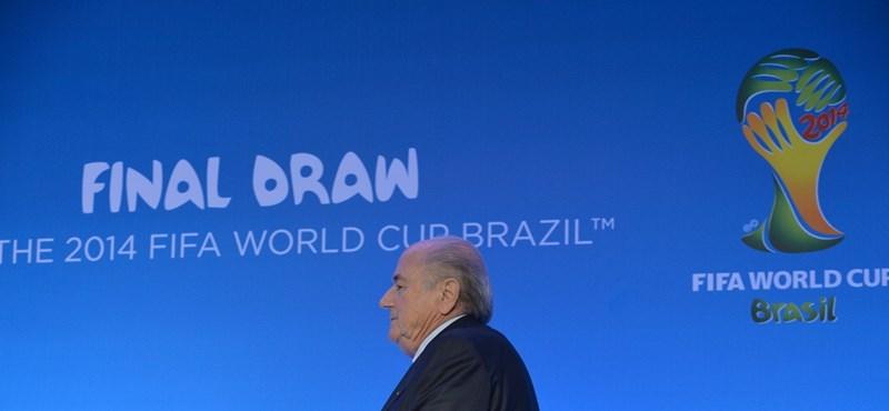 Kigolyózták volna Blattert, de egyelőre nem sikerült