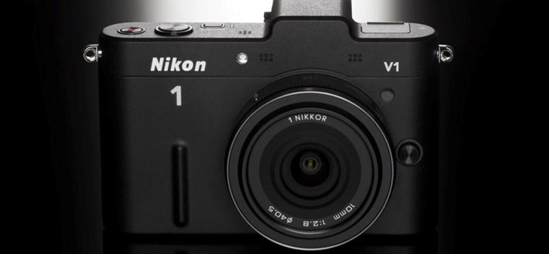 Kézben a kúlfaktor: teszteltük a Nikon V1-et