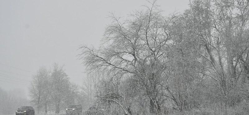 Jön a hó, öt megyére adták ki a figyelmeztetést