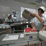 Kórházi éhkopp: 550 forint jut napi öt étkezésre
