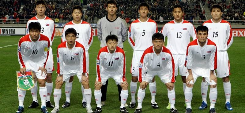 Nyilvánosan megszégyenítették otthon az észak-koreai válogatottat