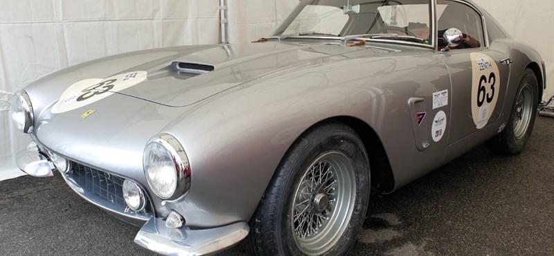Hazánkban az egyik legkülönlegesebb régi Ferrari – körbefotóztuk