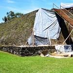 Földrengés fedte fel egy azték piramis belsejében rejlő ősi templomot – fotó