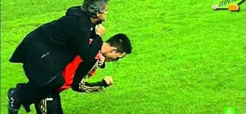 Mourinho extrém gólöröme kivágta a biztosítékot - videó
