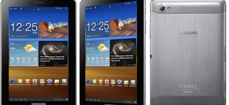 Betiltották a Samsung táblagépét Európában