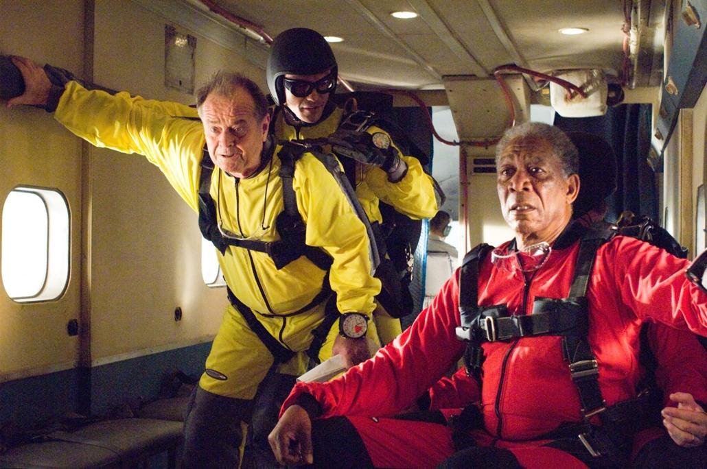 afp.2007. - Morgan Freeman oldalán a Bakancslista című filmben 2007-ben. - Jack Nicholson nagyítás