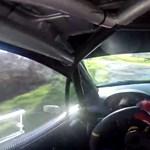 Ennyire szédítően gyors egy modern raliautó - videó