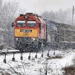 Aki vonattal utazna, tájékozódjon a hó helyzet miatt