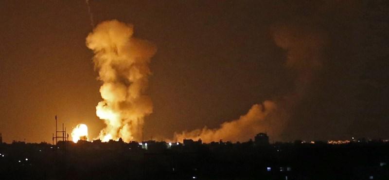 Két rakétát lőttek ki Tel-Avivra a Gázai övezetből