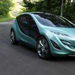 Futurisztikus a Mazda luxusminije