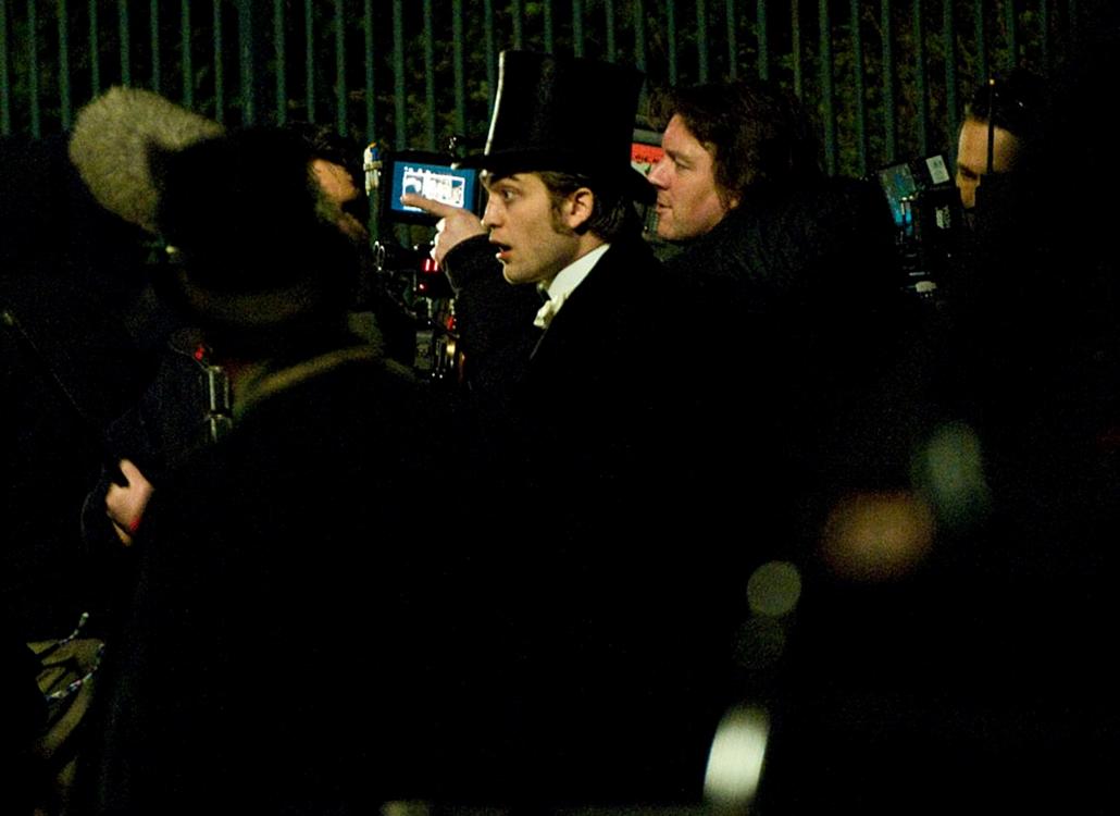 A hét képei nagyítás Robert Pattinson  film forgatás Budapesten Bel Ami