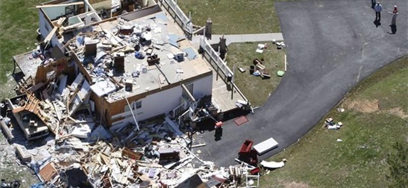 Tornádó pusztított Amerikában