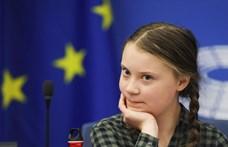 Az olajipart védő ellentüntetők várták Greta Thunberget Kanadában