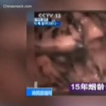 Sokkoló tüdőfilmmel kampányolnak a cigi ellen Kínában
