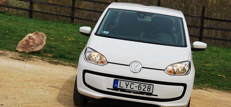 Volkswagen up! teszt: van isten, öt litert fogyaszt az autó
