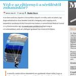 Kórházak kivesézése egy weblapon