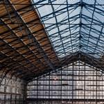 Már látható a Nyugati pályaudvar felújított tetőszerkezete