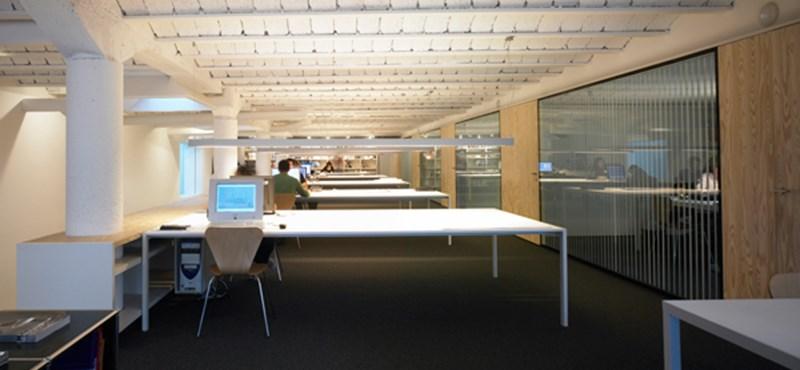 Extrém megoldás: szénraktárból modern iroda
