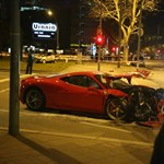 Itt az első lezúzott Ferrari 458 Speciale – fotók