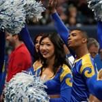 Debütáltak az első férfi cheerleaderek a vasárnapi Super Bowlon