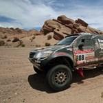 Dakar 2012: Sebestyén a 99. helyen ért célba az ötödik szakaszon