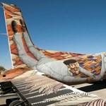 Kortárs művésztámadás ért egy repteret