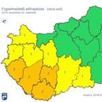 Köd, havazás, ónos eső – az ország felére figyelmeztetést adtak ki
